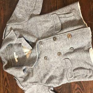 Cabi jacket- semi sweatshirt material!